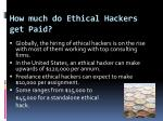 how much do ethical hackers get paid