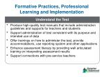 formative practices professional learning and implementation3
