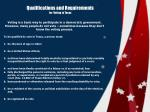 qualifications and requirements for voting in texas