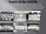 teams of the aagpbl