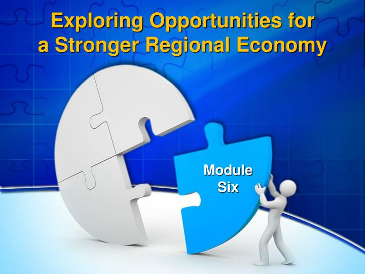 exploring opportunities for a stronger regional economy n.