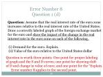 error number 8 question 1 d