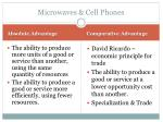 microwaves cell phones