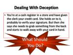 dealing with deception1