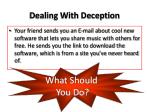 dealing with deception5