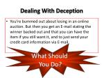 dealing with deception6