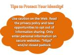 tips to protect your identity3