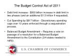 the budget control act of 2011