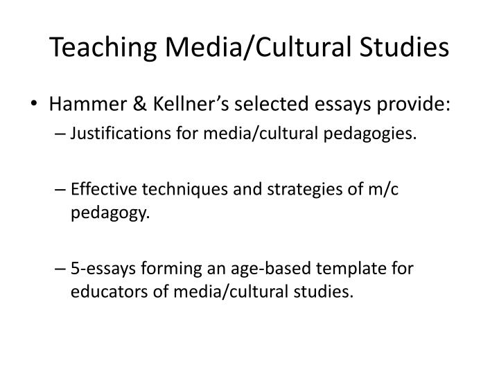 cultural studies essay Ideas for culture essay & paper topics papers may be written on other topics this list is meant to stimulate your imagination curanderismo (folk healing) folksong as an ethnic expression.