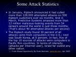 some attack statistics