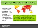 transparency and accountability in new zealand