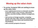 moving up the value chain