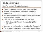 ccs example