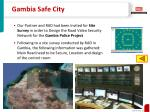 gambia safe city