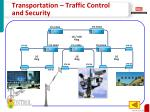 transportation traffic control and security