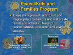 peace4kids and families program2