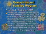 peace4kids and families program6