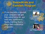 peace4kids and families program7
