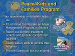 peace4kids and families program9