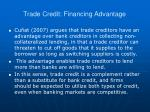trade credit financing advantage1