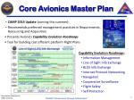 core avionics master plan