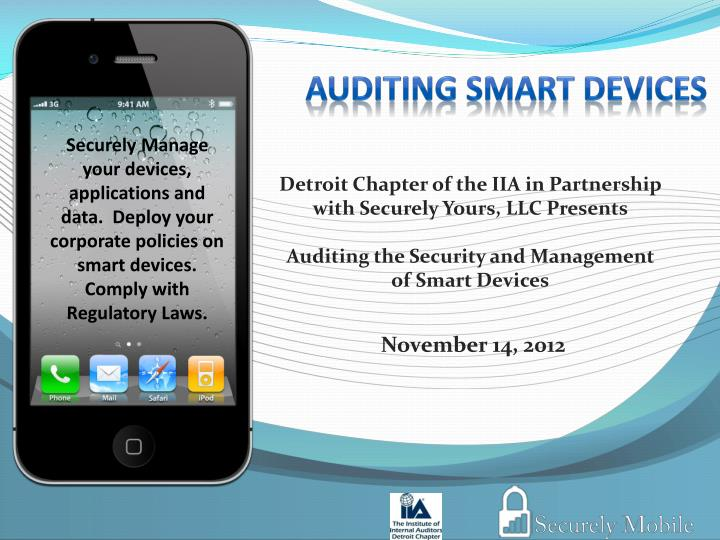auditing smart devices n.