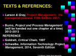 texts references