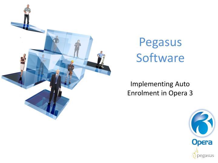 Pegasus Software
