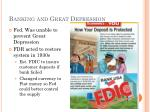 banking and great depression