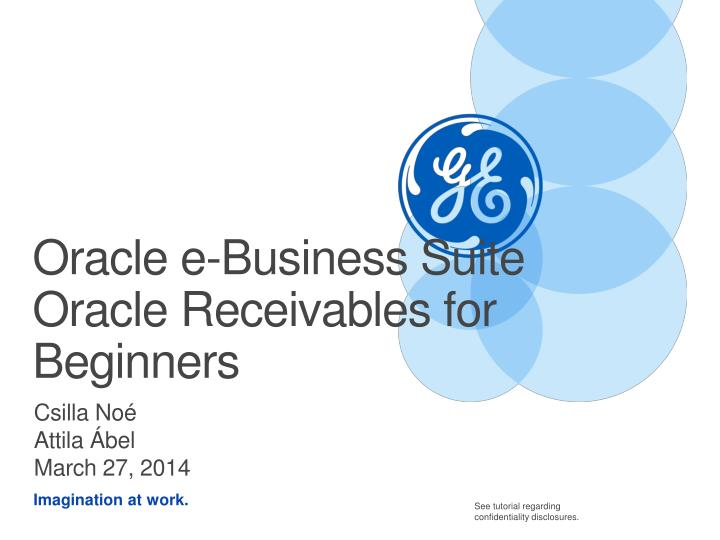 oracle e business suite oracle receiv ables for b eginners n.