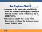 red flag rules sd 4281