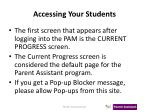 accessing your students