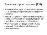 executive support systems ess2