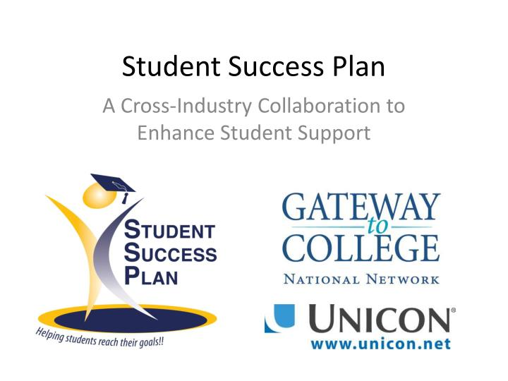 student success plan n.