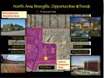 north area strengths opportunities trends