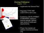 zoning ordinance adopted 1981