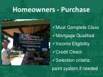 homeowners purchase1