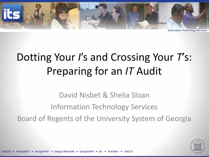 dotting your i s and crossing your t s preparing for an it audit n.