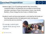 enriched preparation