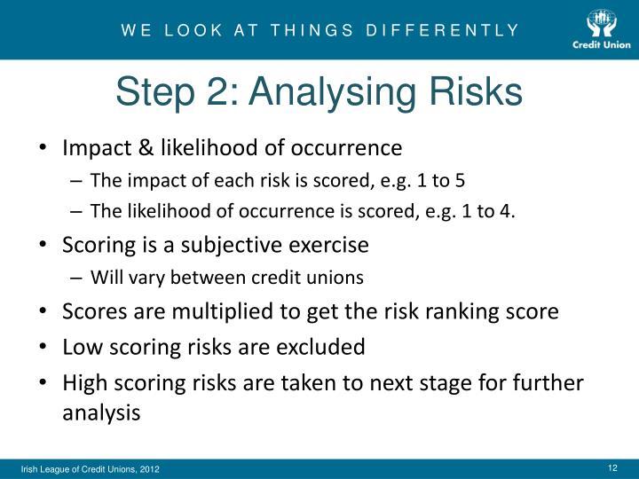 Step 2: Analysing Risks