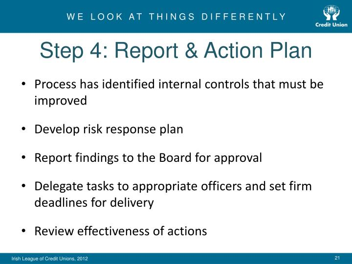 Step 4: Report & Action Plan