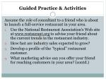 guided practice activities