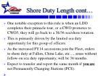 shore duty length cont
