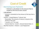 cost of credit6