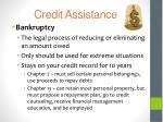 credit assistance1