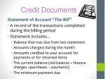 credit documents2