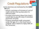 credit regulations5