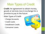 main types of credit2