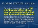 florida statute 218 32 b