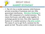 bright ideas market economy